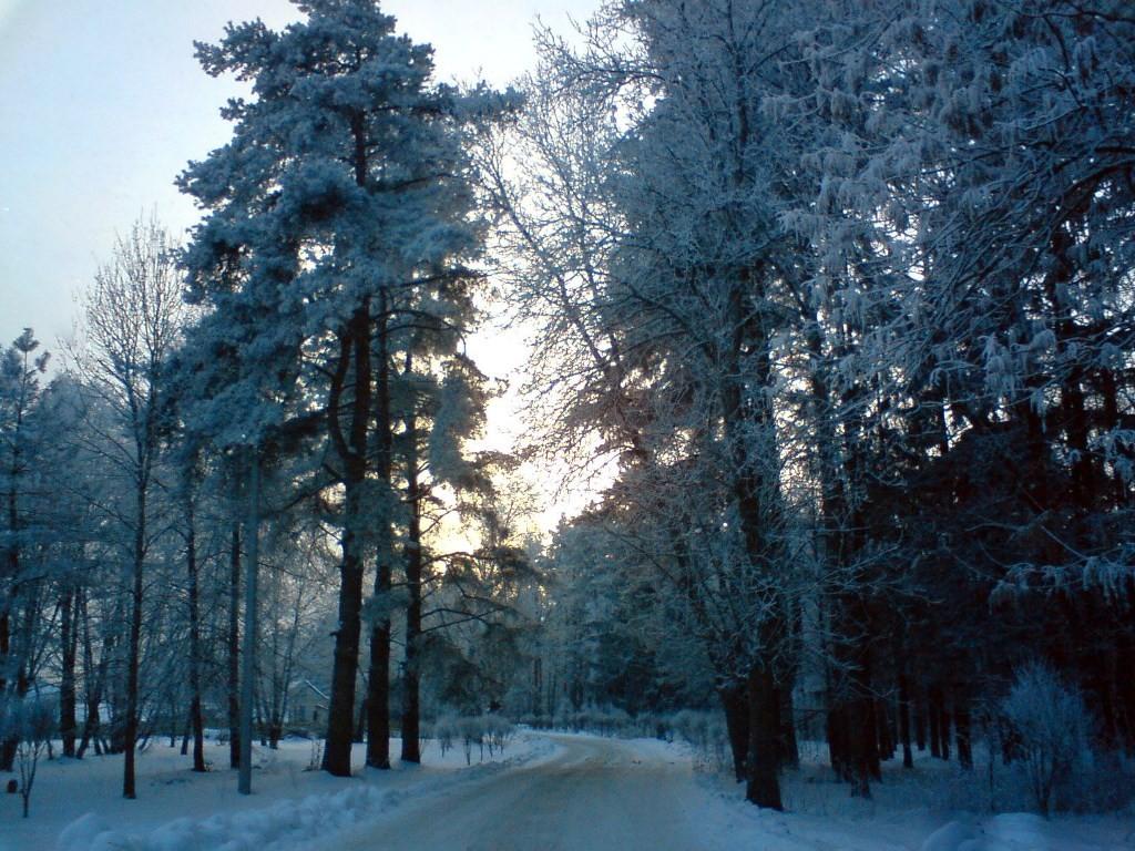 zima eto hrust snega